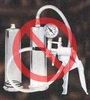 Bombas de vacío o succión - Estafas Comunes de Agrandamiento de Pene